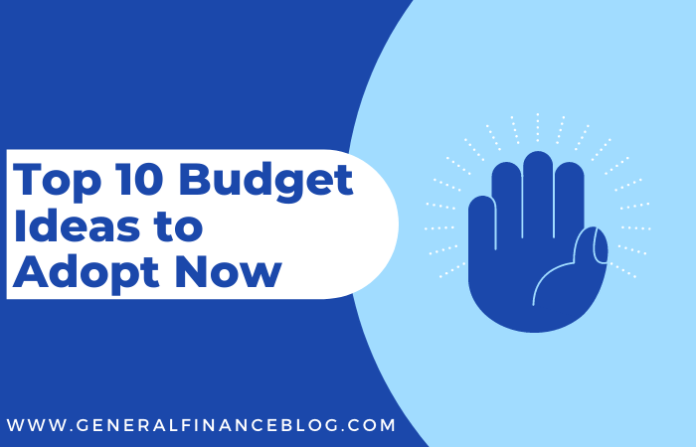 Top 10 Budget Ideas to Adopt Now
